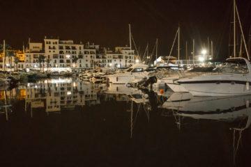 Puerto de la Duquesa   Night Time